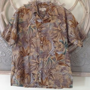 TORI RICHARD 🇺🇸 HAWAIIAN 🌺 TROPICAL MEN SHIRT